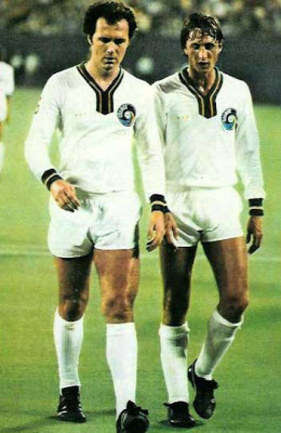 Conexión Vintage - Fútbol: Beckenhauer contra Cruyff