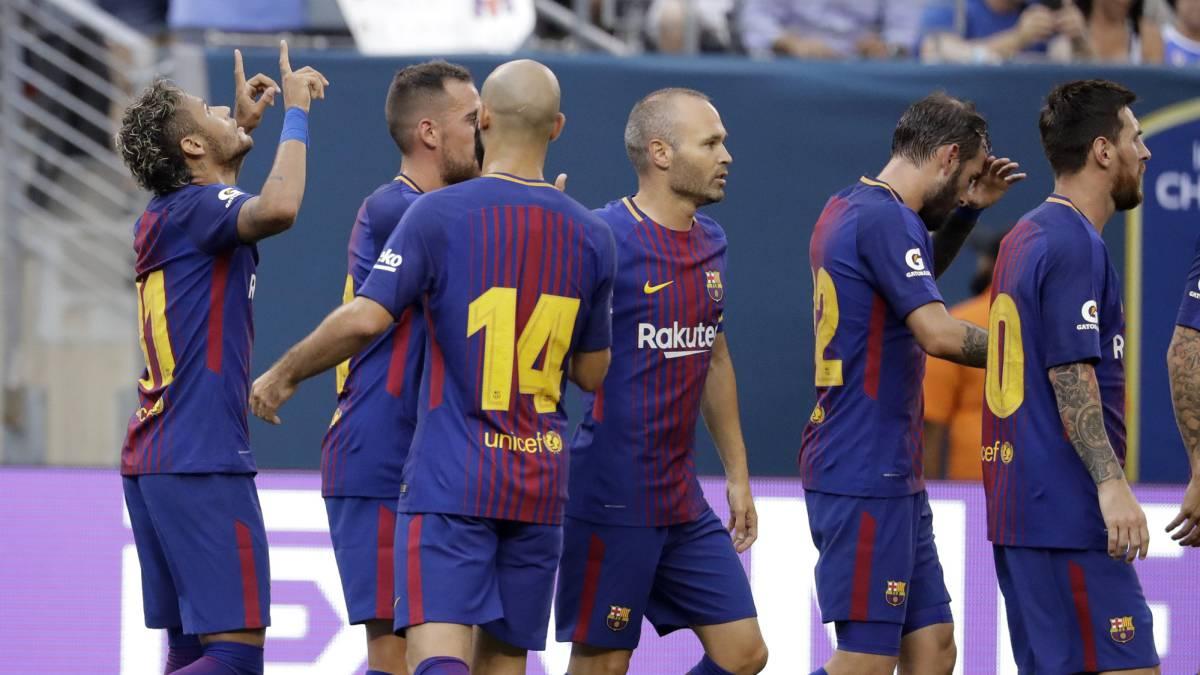 Juventus 1 2 Barcelona Resultado Resumen Y Goles Icc 2017 As Usa