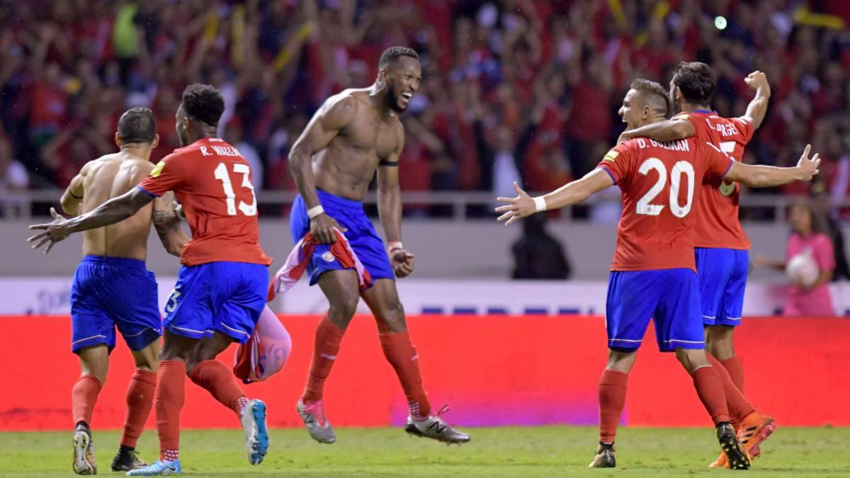 Eliminatorias Concacaf  Costa Rica clasifica al Mundial Rusia 2018 ... 8d40bfab8ad9a