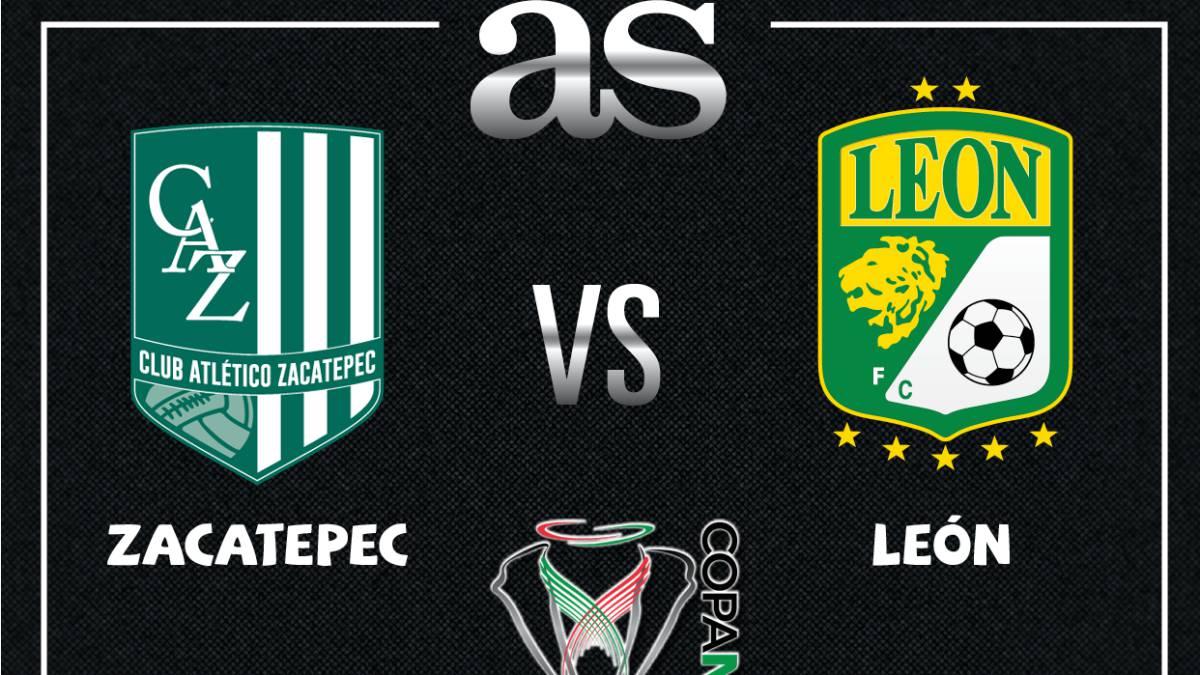 Zacatepec Vs Leon En Vivo Copa Mx Cuartos De Final As Usa