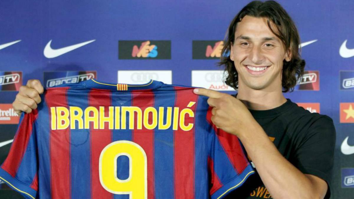 super popular fd0fd 24876 Se cumplen 9 años del fichaje de Ibrahimovic con el ...