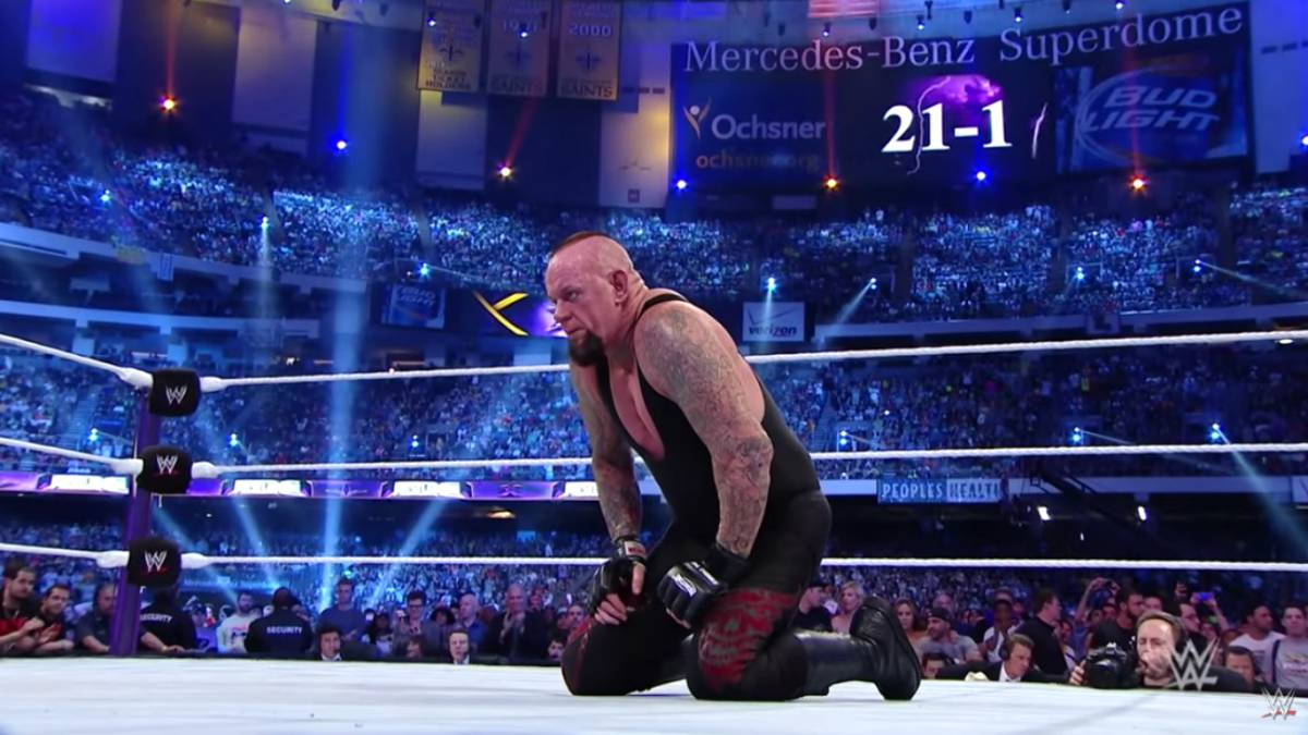 El día que The Undertaker perdió su invicto en Wrestlemania - AS USA