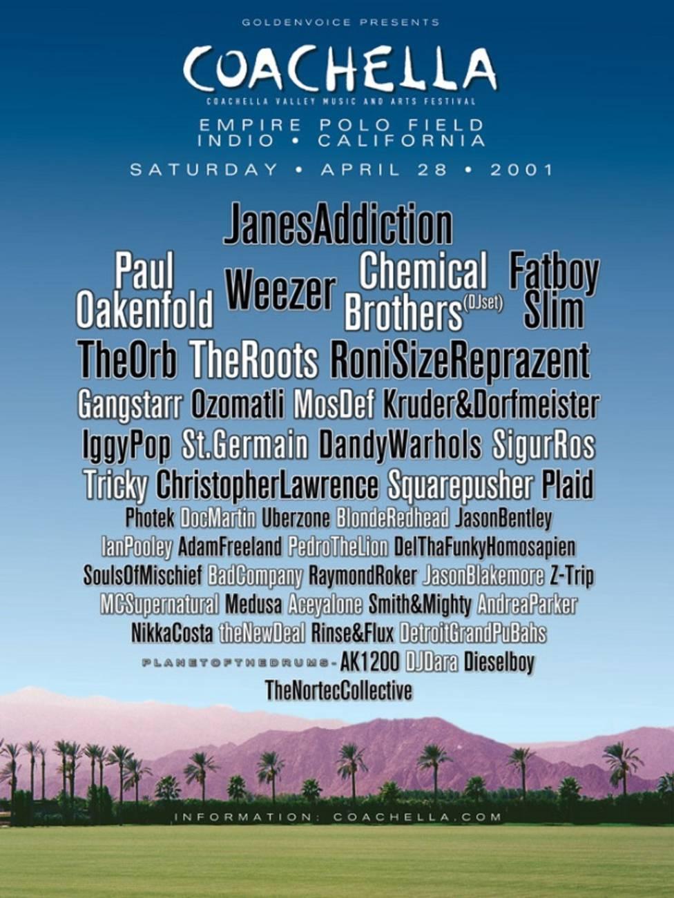 Conoce más acerca del origen de Coachella - AS USA