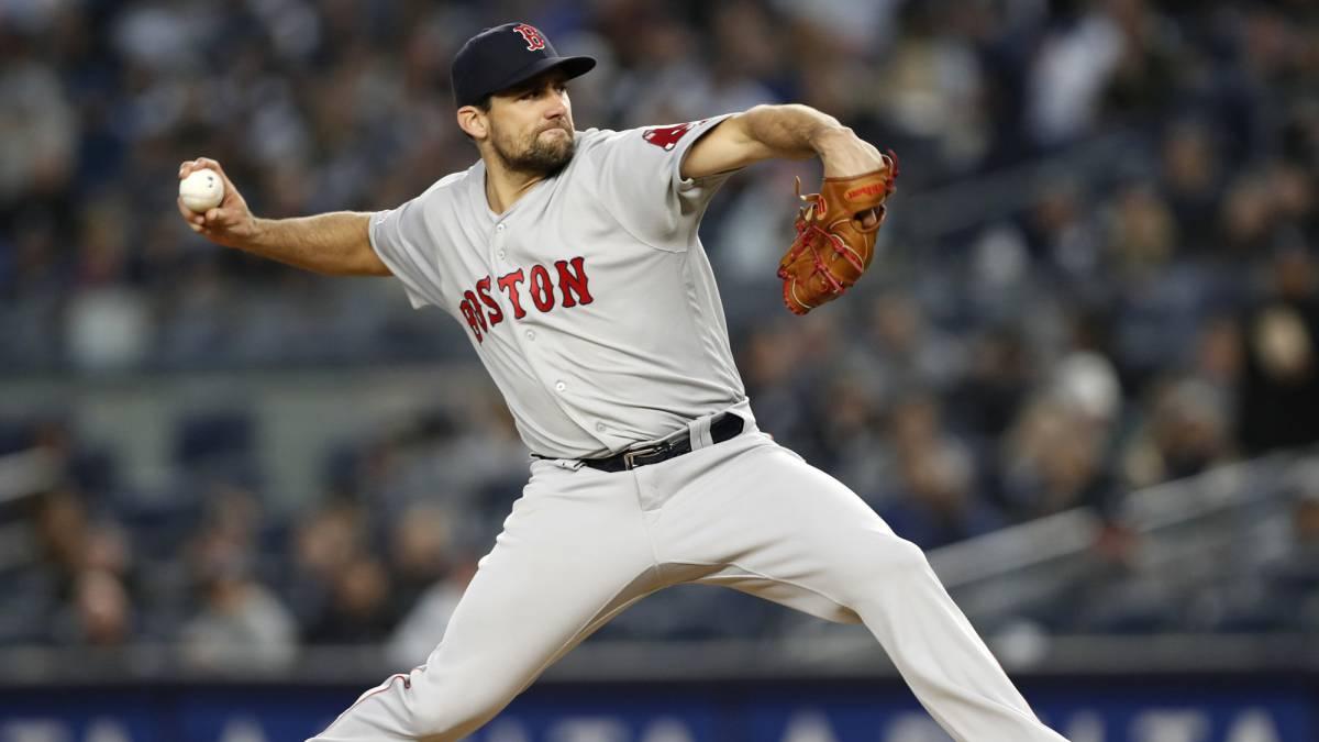 Nathan Eovaldi ha decepcionado esta temporada con los Red Sox.
