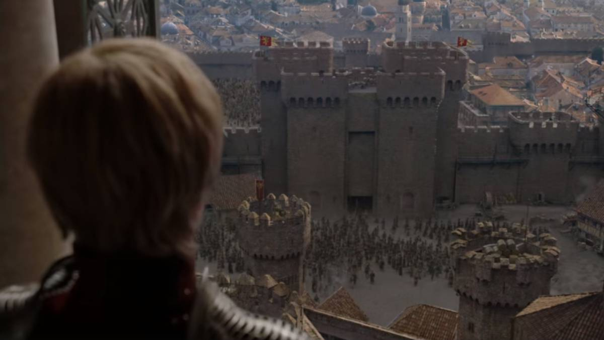 Esto pasó en la temporada 8, capítulo 4 de Game of Thrones ...