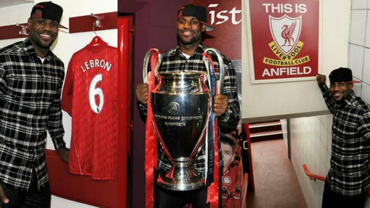 LeBron James es accionista del Liverpool y gana la Champions - AS USA