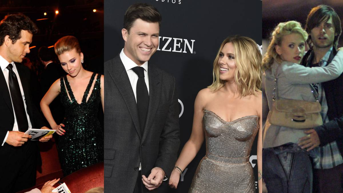 Las Parejas Que Ha Tenido La Actriz Scarlett Johansson As Usa