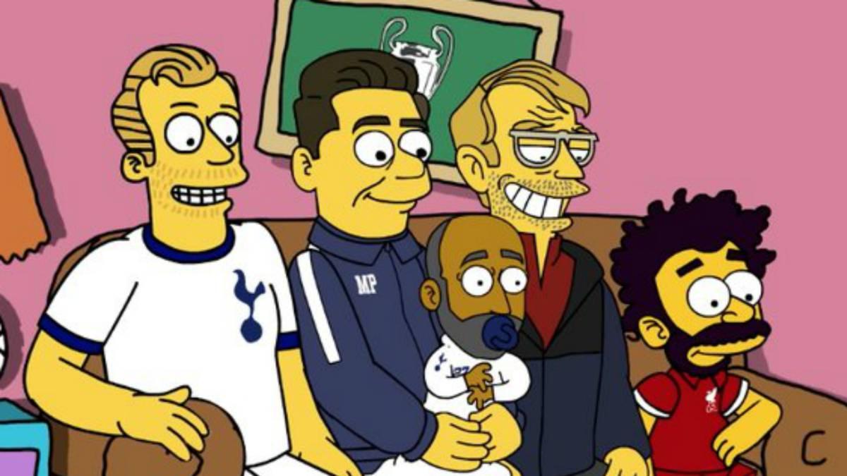 Resultado de imagen para champions league simpsons