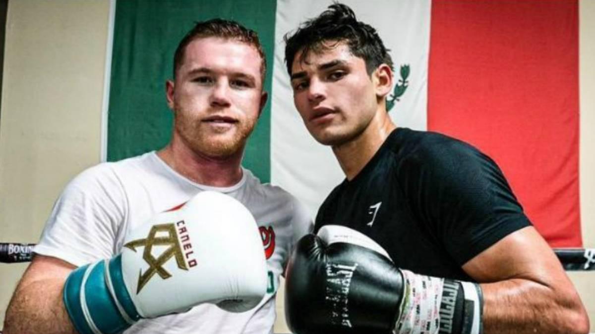 La emotiva felicitación de Canelo Álvarez a Ryan García tras su victoria ante Luke Campbell