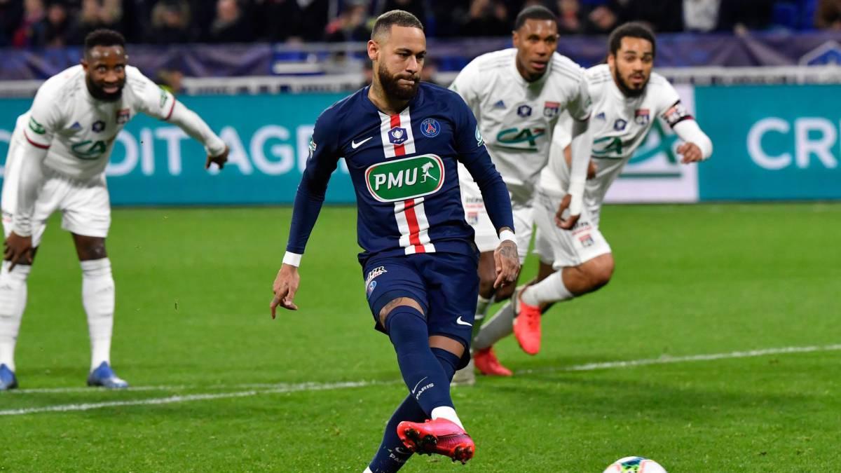 Neymar aprovecha penal y anota el segundo gol para PSG - AS USA