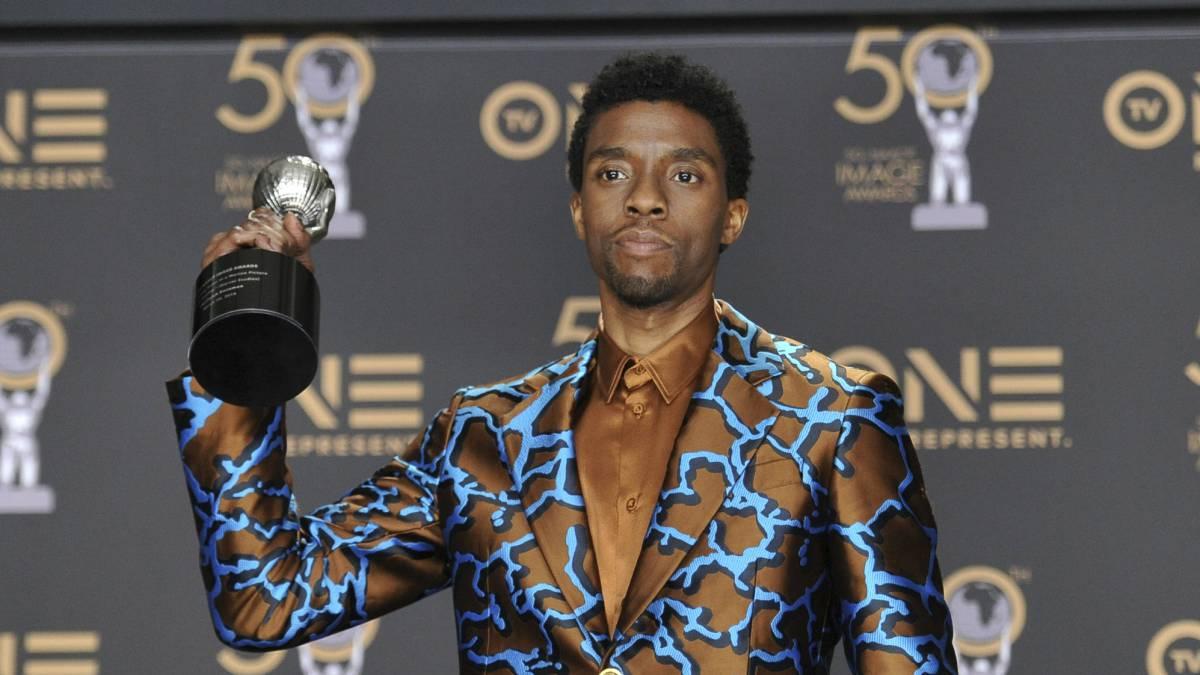 Muere Chadwick Boseman, actor de Black Panther, víctima de cancer - AS USA