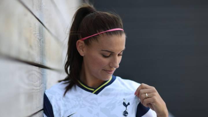 Alex Morgan Ya Poso Y Entreno Con La Playera Del Tottenham As Usa