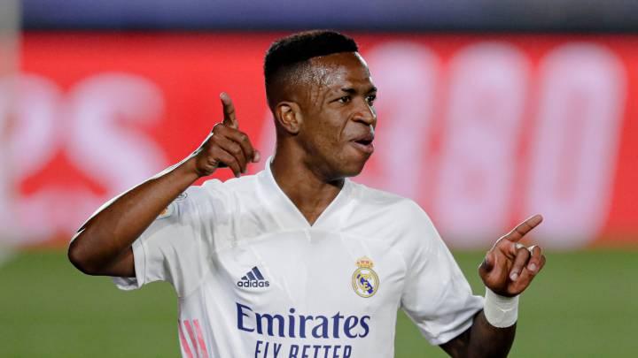 Vinícius Júnior le da al Real Madrid la victoria ante Valladolid - AS USA