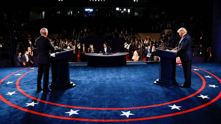Trump - Biden: Así fue el último debate por las elecciones presidenciales  USA 2020 - AS USA